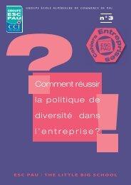 3ème numéro des Cahiers Entreprises - ESC Pau