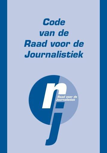 Code van de Raad voor de Journalistiek - DeWereldMorgen.be