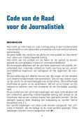 Code van de Raad voor de Journalistiek - DeWereldMorgen.be - Page 3