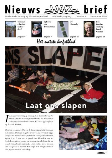 Nieuws brief - VWZ Amsterdam