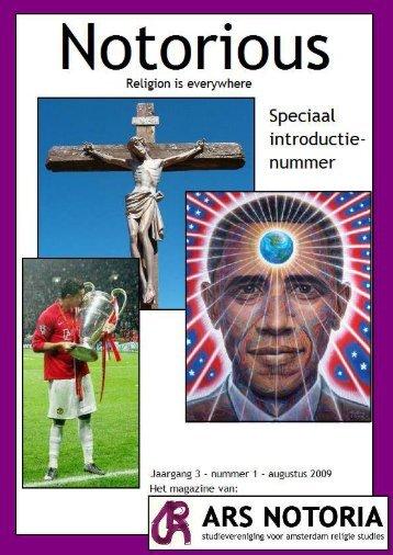 Nummer 1 - Religiestudies