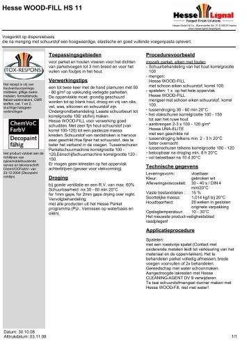 Hesse WOOD-FILL HS 11