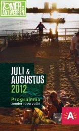Programma - Zomer van Antwerpen