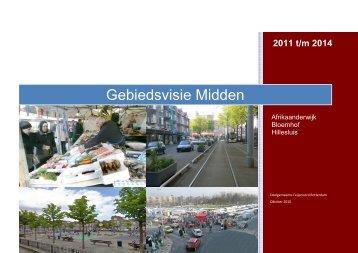 Gebiedsvisie 2011-2015 versie 7 oktober