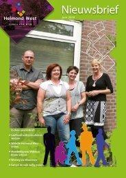 Nieuwsbrief juni 2010 - Helmond West