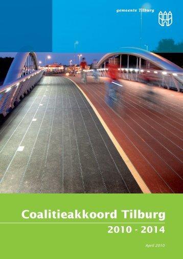 Coalitieakkoord Tilburg 2010 - 2014 - PvdA Tilburg