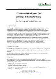 """""""JEP - Jungen Erwachsenen Pate"""" Lehrlings ... - Peteradler.at"""