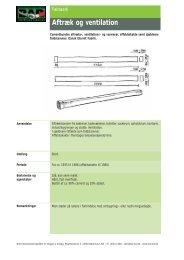 30. 29. Aftræk og ventilation - BAR Bygge & Anlæg