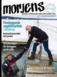 Förebyggande ungdomsarbete i skolorna - Lovisa