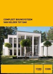 Compleet bouwsysteem van kelder tot dak - Xella