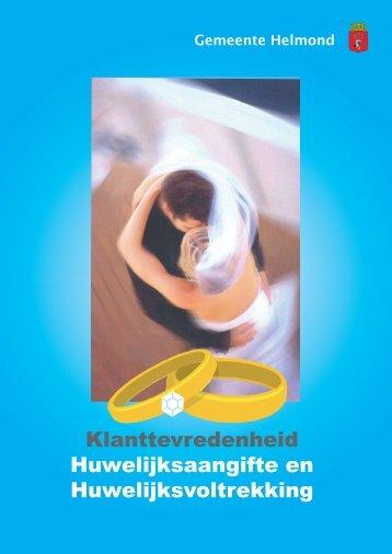 Klanttevredenheid Huwelijksaangifte en Huwelijksvoltrekking