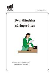 2002:5 Den åländska näringsrätten - ÅSUB