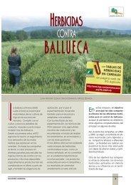 Herbicidas contra ballueca