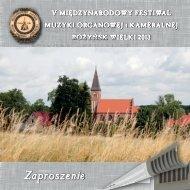 Zaproszenie - Parafia pw Świętego Szczepana w Rożyńsku Wielkim