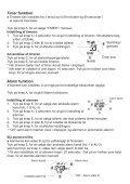 BRUGSANVISNING PULSAR DIGITAL QUARTZ PV4 - KAL. W863 - Page 5