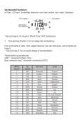 BRUGSANVISNING PULSAR DIGITAL QUARTZ PV4 - KAL. W863 - Page 6