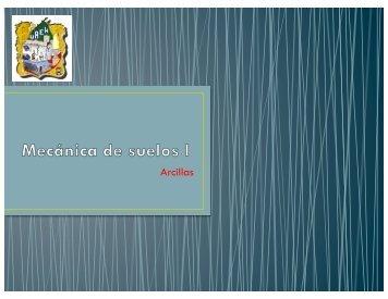 Arcillas - UAEH