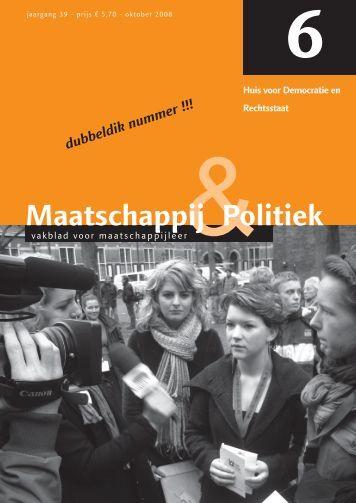 2008-6 - Maatschappij en Politiek Magazine