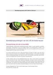 beleid sv.pdf? - Landelijke Vereniging van Eerstelijnspsychologen