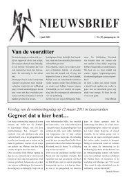 NIEUWSBRIEF - Werkgroep Nabestaan Na Zelfdoding Friesland