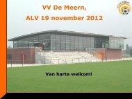 Strategisch beleidsplan - VV De Meern
