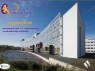 Presentatie Hypertensie, G.J. Knot-Veldhuis - Martini ziekenhuis
