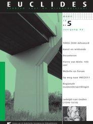 85-5 - Nederlandse Vereniging van Wiskundeleraren