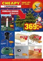 Reklamblad 6 december - Cheapy