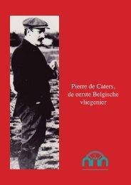 Pierre de Caters, de eerste Belgische vliegenier - Bamfbamrs.be
