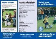 Det er sjovt at spille fodbold... - DBU Sjælland