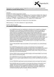 Verslag raadsvergadering 1 juni 2004 - Gemeente Papendrecht