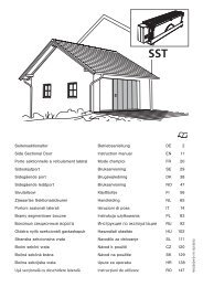 Monteringsanvisning sidoskjutport 2013 (text) - Crawford Garageportar