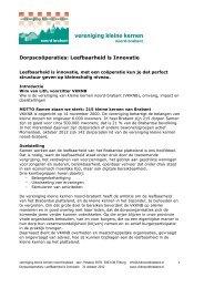 HIER - Vereniging kleine kernen Noord-Brabant