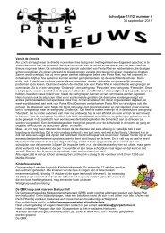 Pius-nieuws 4, 30-9-2011 - Basisschool Pius X