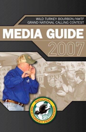 MEDIA GUIDE - National Wild Turkey Federation