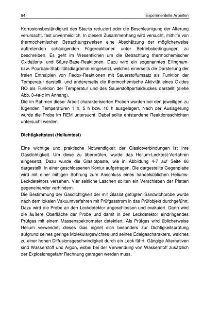 T °C - JuSER - Forschungszentrum Jülich