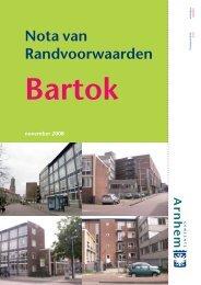 Nota van Randvoorwaarden Bartok - Rijnboog