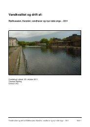 Vandkvalitet og drift af: - Albertslund Forsyning