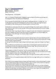 Gunnar Brandt-Hansens kommentarer fremsendt i forbindelse med ...