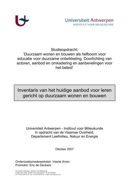 Inventaris - DuWoBo