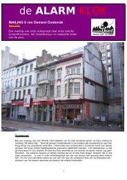 De alarm klok 8 - maart 2006 - I love Oostende