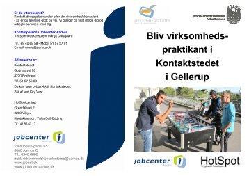 Bliv virksomheds- praktikant i Kontaktstedet i Gellerup