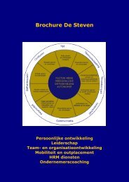 brochure downloaden - De Steven Training