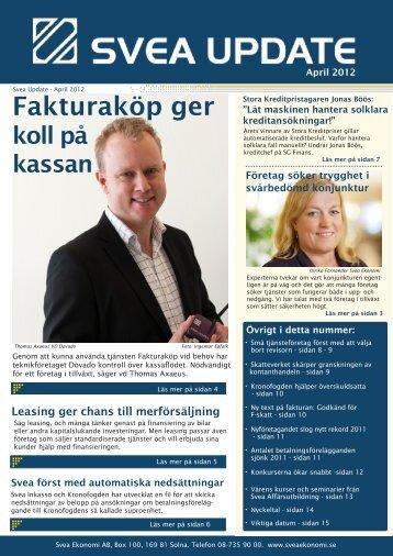 April 2012 - Svea Ekonomi