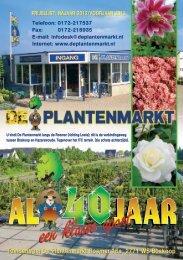 Download onze nieuwe brochure - De Plantenmarkt