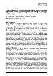 Aus den Gründen - Haus & Grund Verlag und Service GmbH