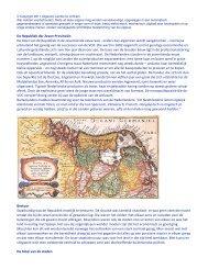 De Republiek der Zeven Provinciën De bloei van de ... - Lambo