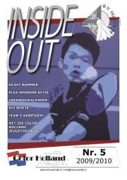 Insideout 5 200910 - BV Huizen '96