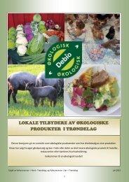 lokale tilbydere av økologiske produkter i ... - Fylkesmannen.no
