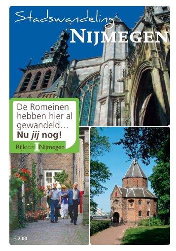Stadswandeling - VVV Arnhem Nijmegen